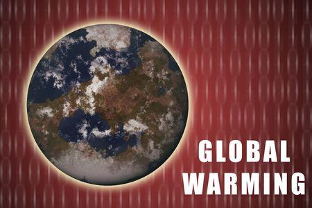 avviso importante: Riscaldamento globale Avviso importante Abstract Contesto in rosso Archivio Fotografico
