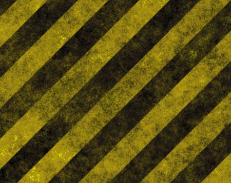 Hazard Danger Background Texture With Common Black and Yellow Stripes Stock Photo - 3343574