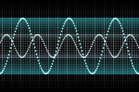 Sound Equalizer Rhythm Music Beats in Various Colors Stock Photo - 3343572
