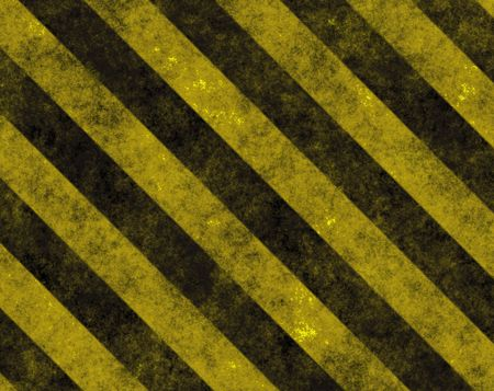 Hazard Danger Background Texture With Common Black and Yellow Stripes photo