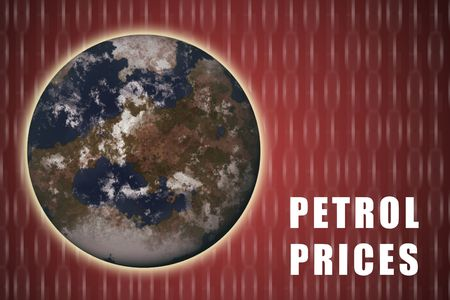 Petrol Prices Increasing Rapidly on a Global Scale Stock Photo - 3427597