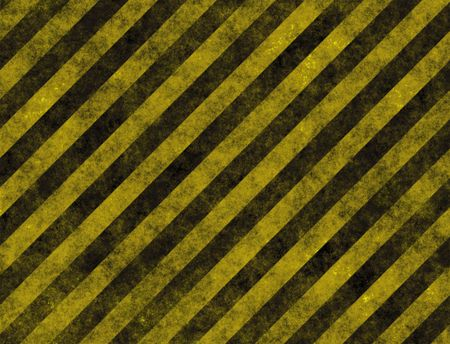 Hazard Danger Background Texture With Common Black and Yellow Stripes Stock Photo - 3450681