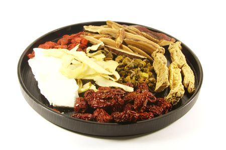 medicina tradicional china: Combinaci�n de hierbas chinas tradicionales para la curaci�n de Especias Sopa