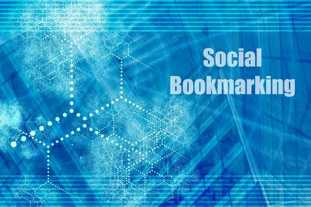 bookmarking: Social Bookmarking Abstract Background with Internet Network