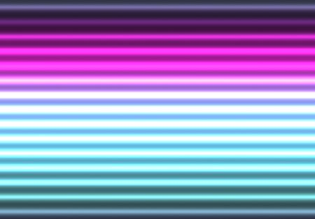 Glowing Neon Lights Abstract Background in Varying Colors photo