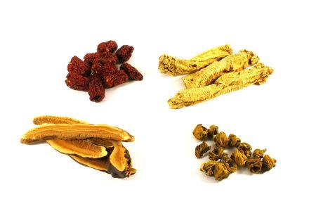 promotes: Sopa a base de hierbas chino ingredientes para mejorar la salud y el bienestar