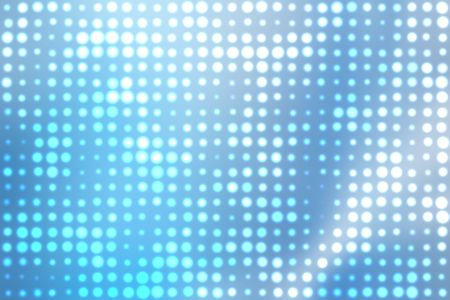 Blue and White Glowing Orbs Abstract Background Stock Photo - 3593913