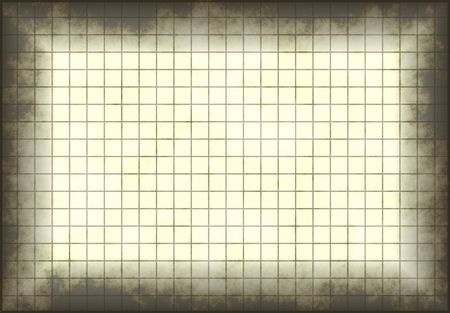 Antique and Old Grunge Graph Paper with Grids Stock Photo - 3593929