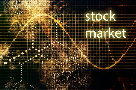 Stock Market Abstract Business Concept Wallpaper Stock Photo - 3617616