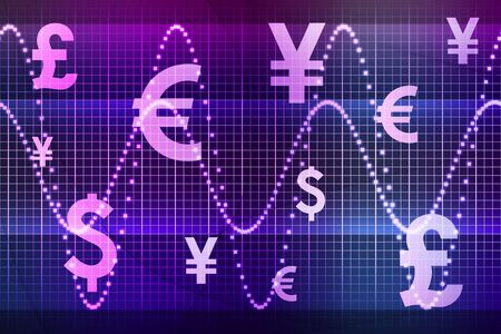 financial sector: Purple Financial Sector Global Currencies Abstract Background Wallpaper