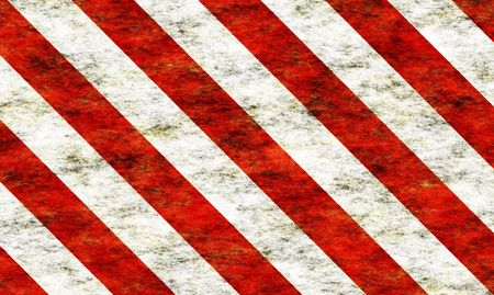 Candy Cane Grunge Abstract Wallpaper in Red and White Stripes Stock Photo