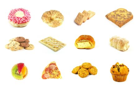 Baked Goods Series 9 Isolated on a White Background photo