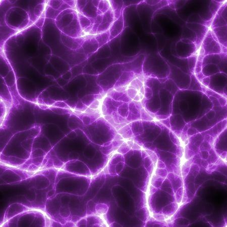 rayo electrico: Sin fisuras rayos el�ctricos de fondo de color morado y negro