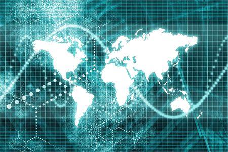 pulso: Azul en todo el mundo las comunicaciones de las empresas rendimiento Resumen de antecedentes