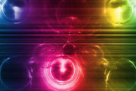 Rainbow Cyberspace Business System Abstract Background Wallpaper Stock Photo - 3679752