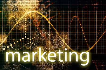 advertise: Marketing Abstract Technology Business Concept Wallpaper Background