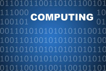 Computing School Course Series Class Abstract Background photo