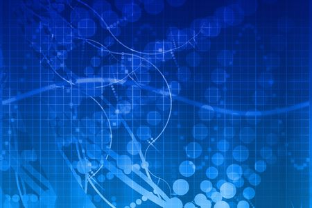 Blue Medical Science Futuristic Technology Abstract Background Stock Photo - 3701344