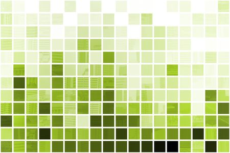 Green Simple and Clean Background Abstract in Grid Stock Photo - 3707695