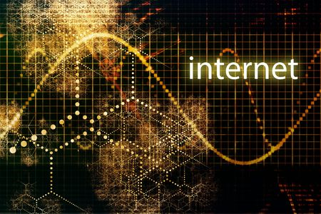 Internet Abstract Business Concept Wallpaper Presentation Background  photo