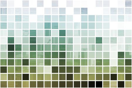 Green Simple and Clean Background Abstract in Grid Stock Photo - 3723503