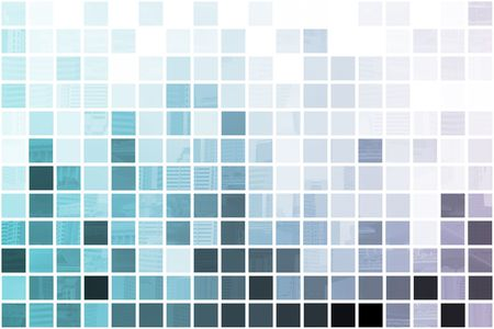 Blue Simplistic and Minimalist Abstract Block Background photo