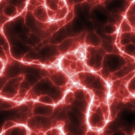 electric spark: Seamless Electric Lightning Background in Red and Black Stock Photo