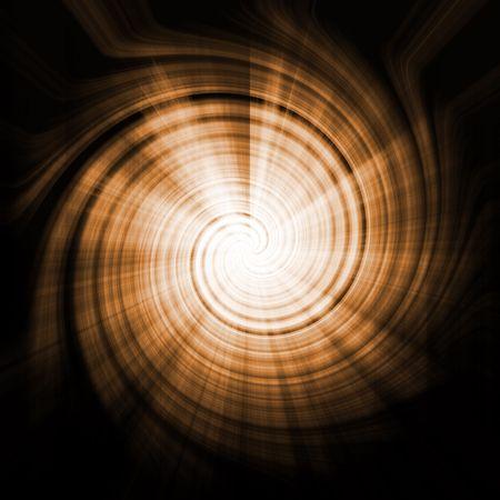 Alien Abstract Vortex Background Texture in Orange Swirls photo