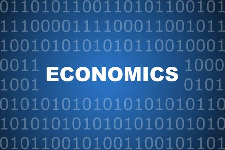 Economics School Course Series Class Abstract Background Stock Photo - 3752655