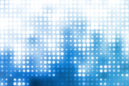 Blau und Weiß Trendy Orben Cool Zusammenfassung Hintergrund