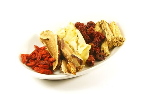 dried herb: Traditional Chinese Herbs Combination of Spices for Healing Soup