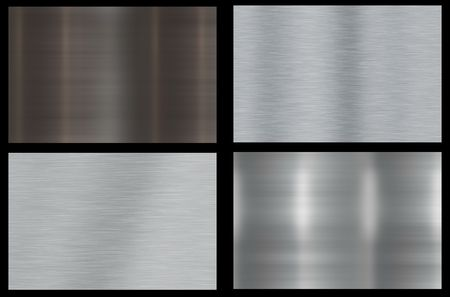 Polished Metal Abstract Background Texture With Smoothening photo