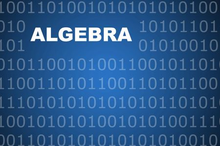 Algebra School Course Series Class Abstract Background photo