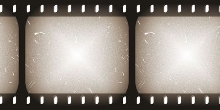 negatives: Film Roll Clip Art Faded and Old