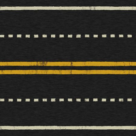 A Seamless Painted Asphalt Road Background Texture Stock Photo