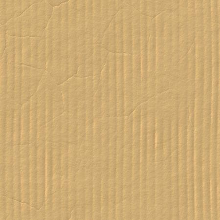 carton: Sin fisuras con la textura de cart�n corrugado Crease l�nea Foto de archivo