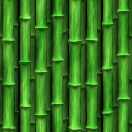 Seamless Bamboo Shoot Plant Wall Background Wallpaper photo