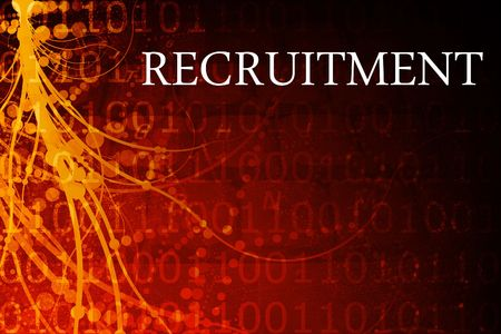 Recruitment Abstract Background in Red and Black photo