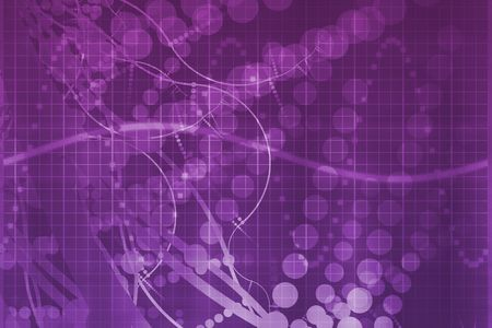 Purple Medical Science Futuristic Technology Abstract Background Banque d'images