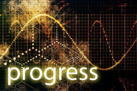A Business Progress Abstract Futuristic Tech Background  Stock Photo - 3900684
