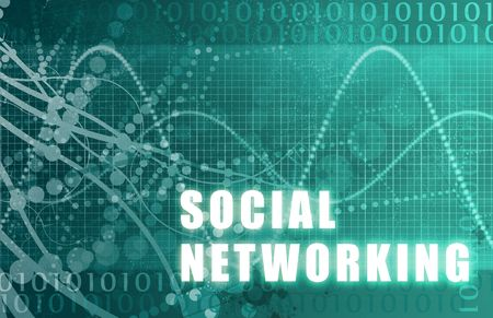 social net: Social Networking Abstract Background with Internet Network