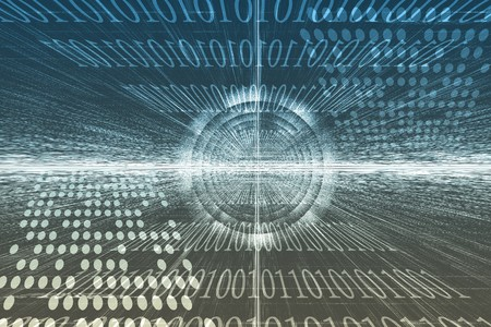 サイバー ビジネス システム データの抽象的な背景の壁紙 写真素材 - 3957091