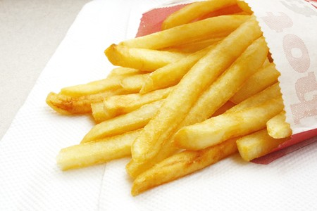 the masses: Fries franc�s, en �ltima instancia, Fast Food Snack de las masas
