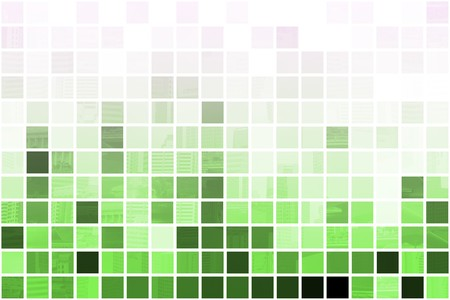 Green Simple and Clean Background Abstract in Grid Stock Photo - 3964244