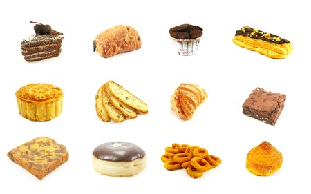 Baked Goods Series 8 Isolated on a White Background photo