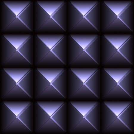 Futuristic Sleek Metal Stud Grid Abstract Background Stock Photo - 3964287