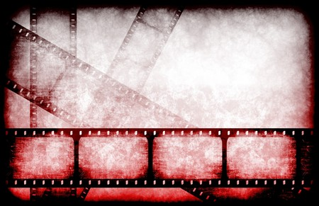 Abstract Horror Movie Feature Reel as Background photo