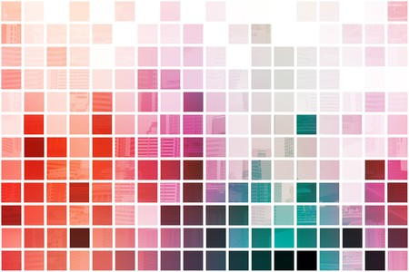 Colorful Simplistic and Minimalist Abstract Block Background Stock Photo - 3981215