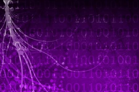 Une science-fiction de réalité virtuelle réseau résumé Banque d'images - 3983977