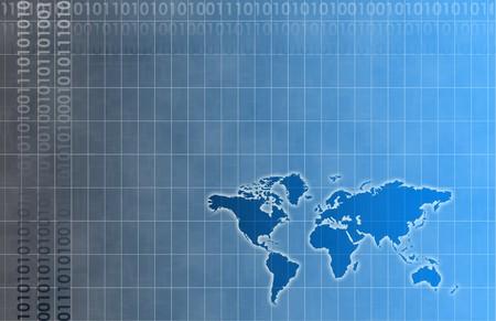 Futuristic Web Cyber Data Grid Color Background Stock Photo - 3983980
